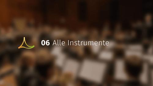 Alle Instrumente - Online-Akademie Manuel Epli