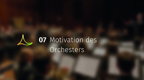 Motivation des Orchesters