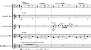 Saxophon Pilatus