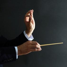 Hände Dirigent